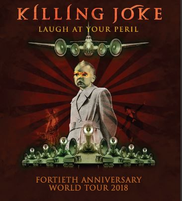 KILLING JOKE llega al Plaza como parte de su gira de 40 aniversario  'Laugh at you Peril'
