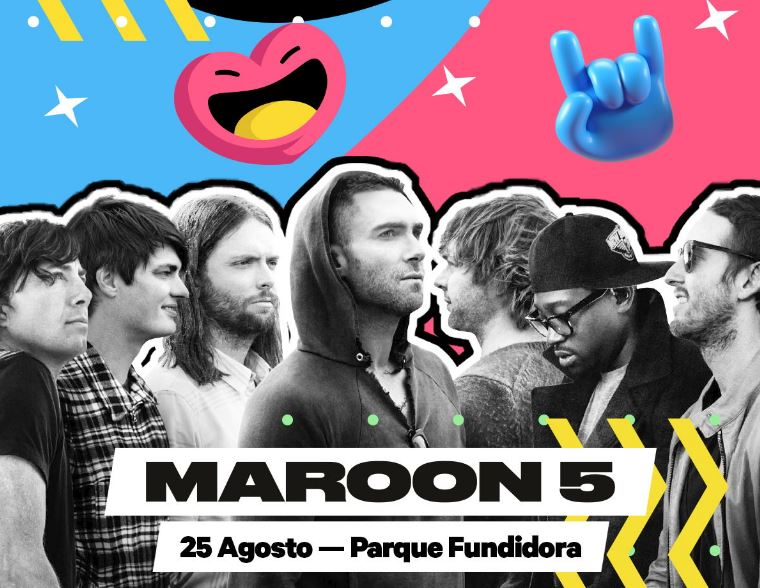 Maroon 5, headliner del Bud Light Hellow Festival 2018