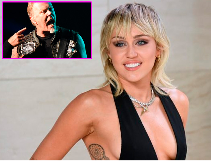 MILEY CYRUS prepara disco con covers de METALLICA